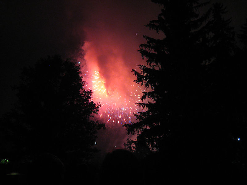 Tanglewood fireworks