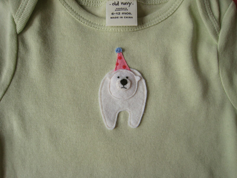 Party bear onesie (1)