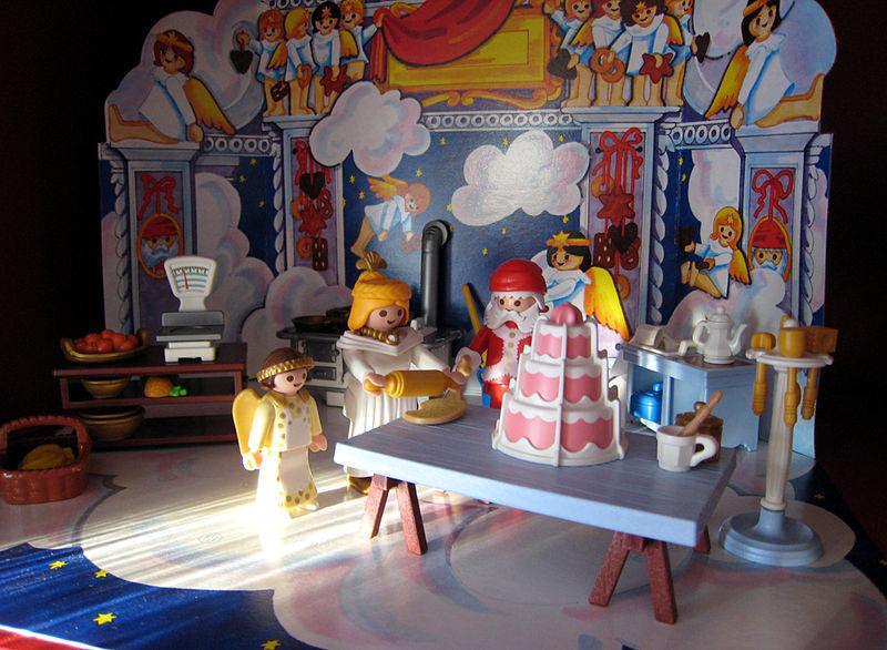 2008 xmas playmobil bakery