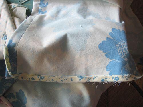 Skirt binding