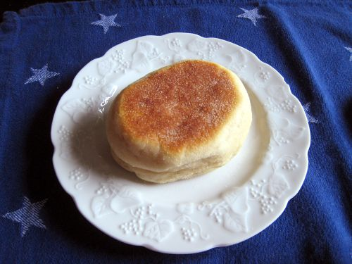 Sourdough english muffin