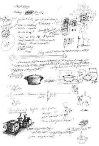 Risotto sketch