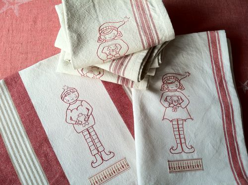 Xmas 2011 dishtowels (6)