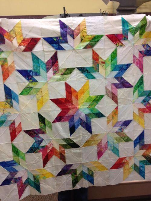 Mom star quilt